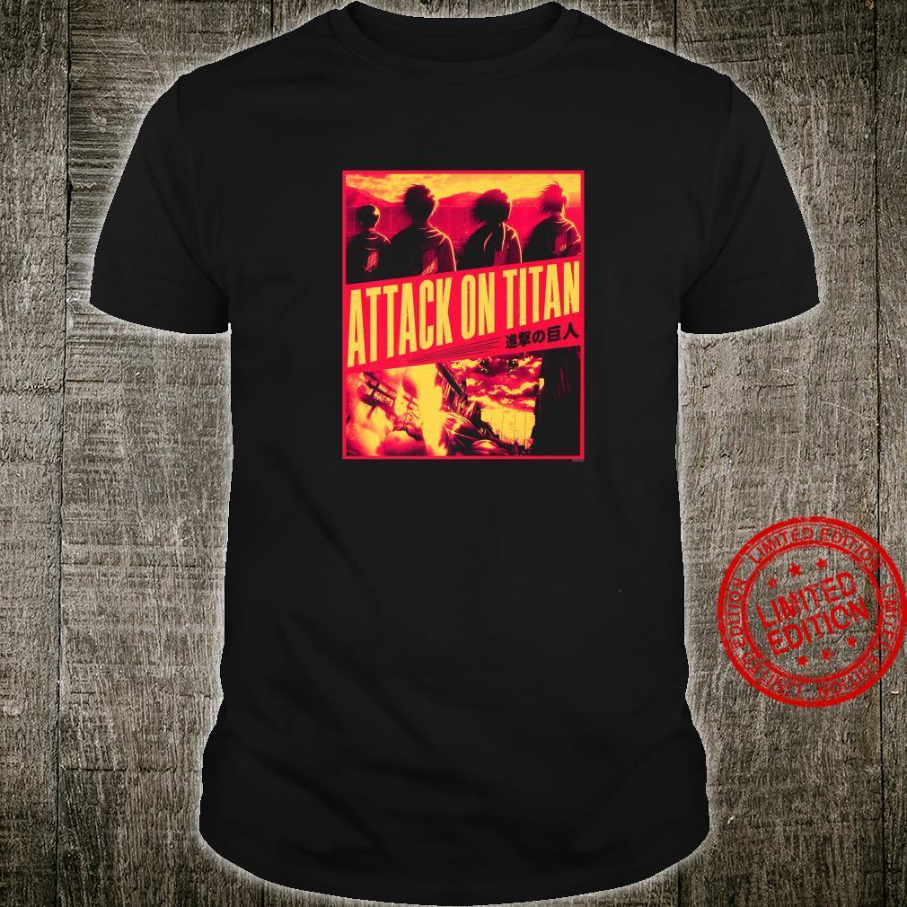 Attack on Titan Season 3 Slanted Type Shirt