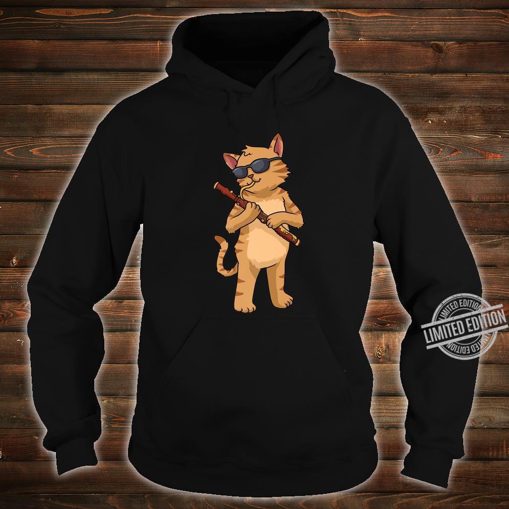 Cat Bassoon Jazz Music Cat Bassoonist Shirt hoodie
