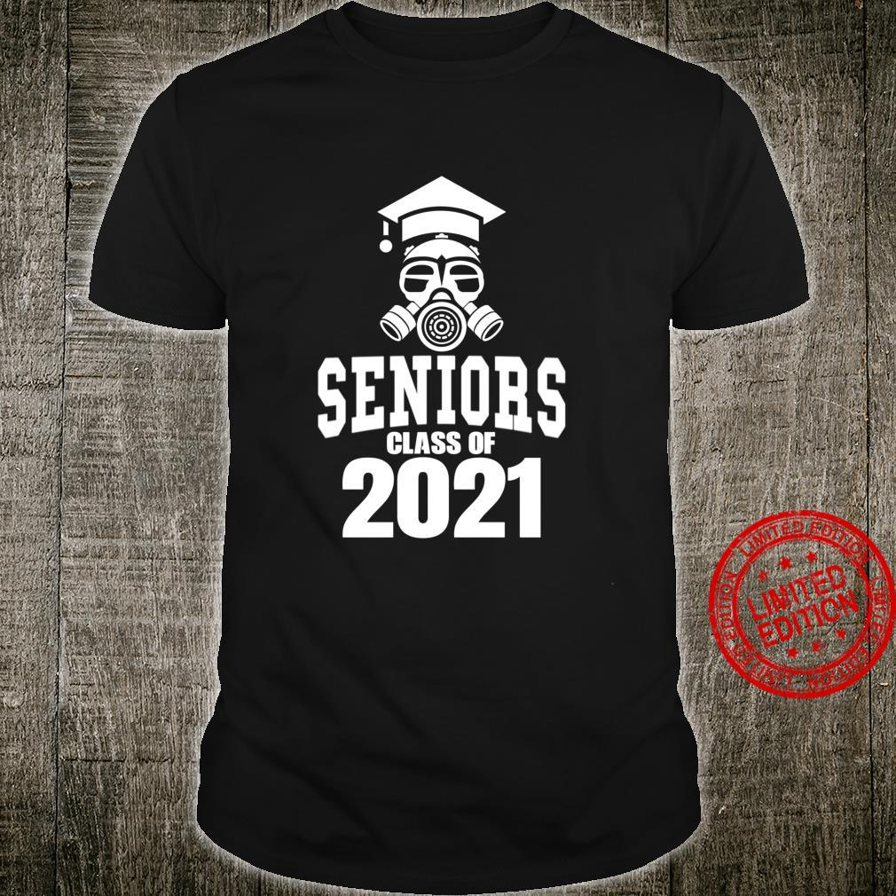 Class of 2021 Quarantine Seniors Gas Mask Shirt