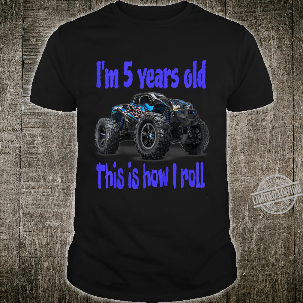 Kids The best Monster Trucks Rules on the planet. Shirt