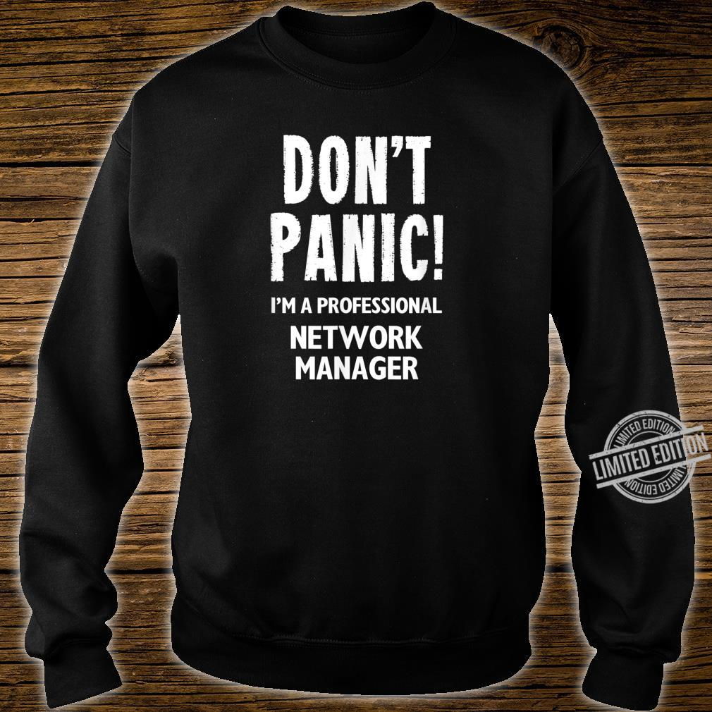 Network Manager Shirt sweater