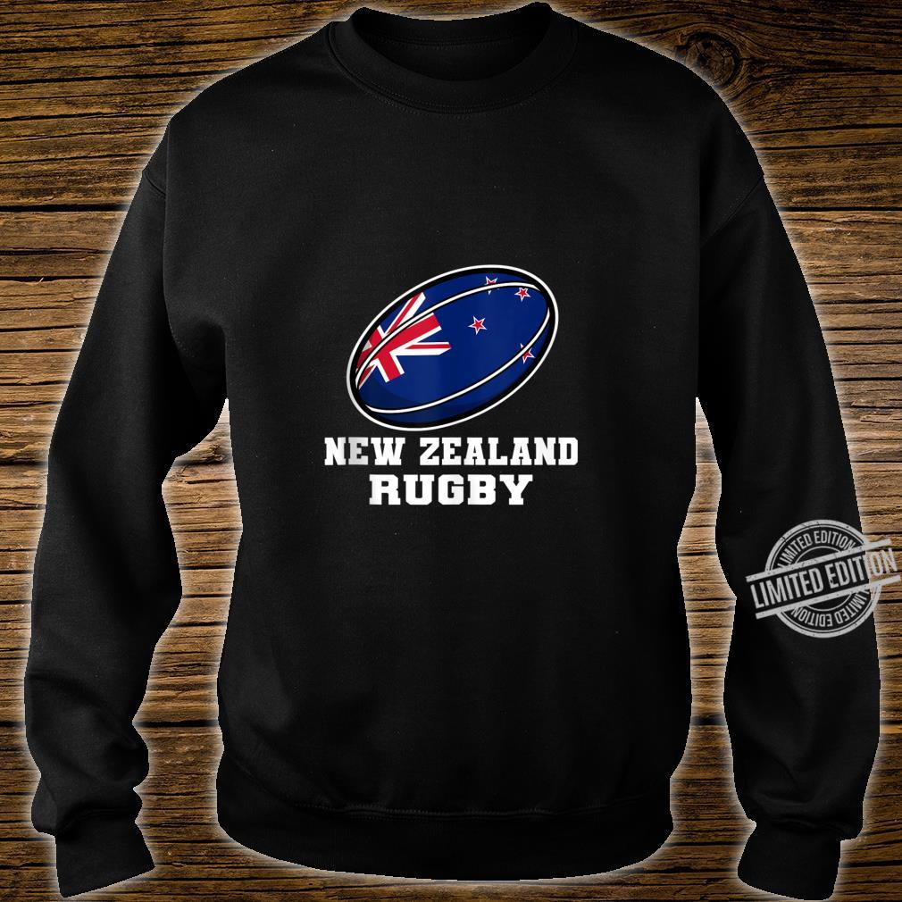 New Zealand Rugby Gear New Zealand Flag Rugby Fan Shirt sweater
