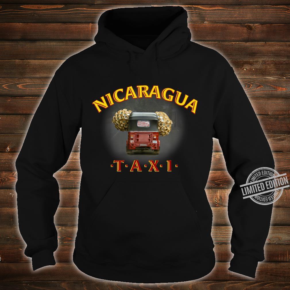 Nicaragua Taxi Shirt hoodie
