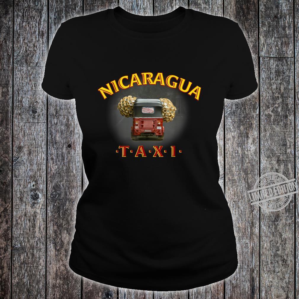 Nicaragua Taxi Shirt ladies tee