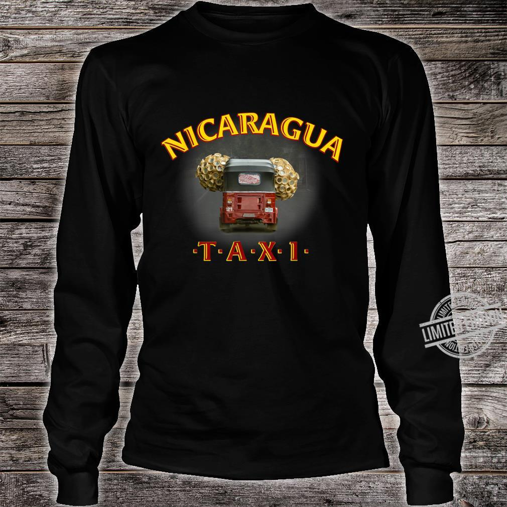 Nicaragua Taxi Shirt long sleeved