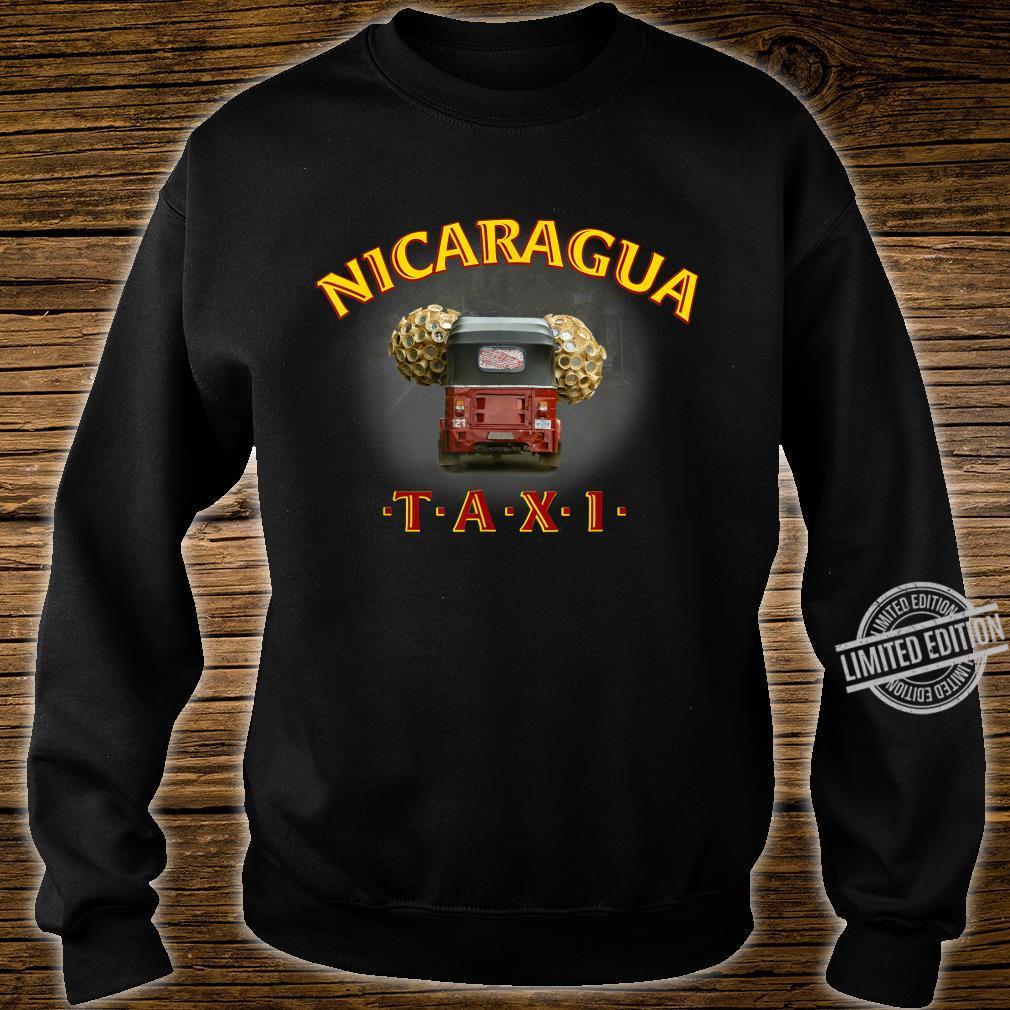 Nicaragua Taxi Shirt sweater