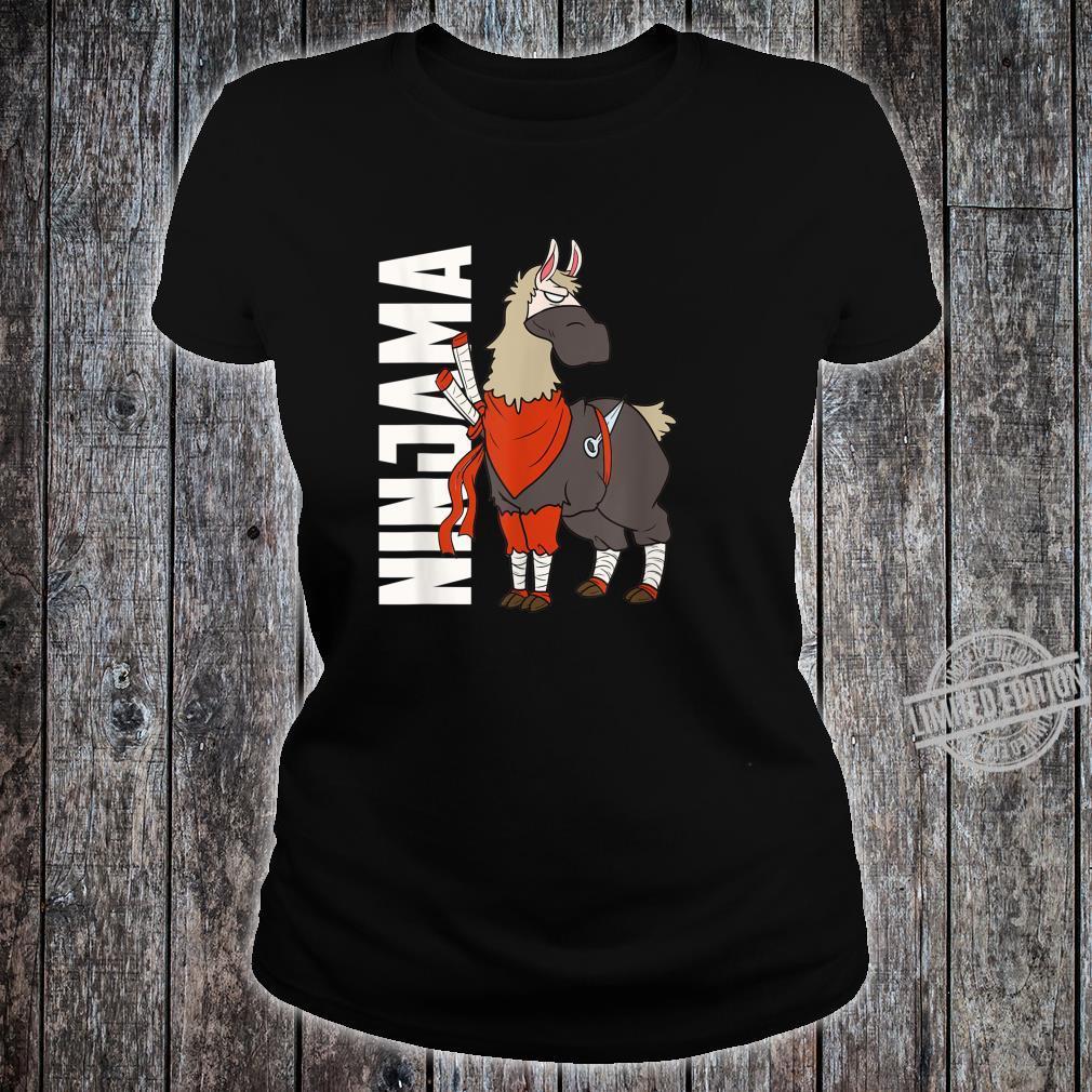 Ninjama Ninja Lama Shirt ladies tee