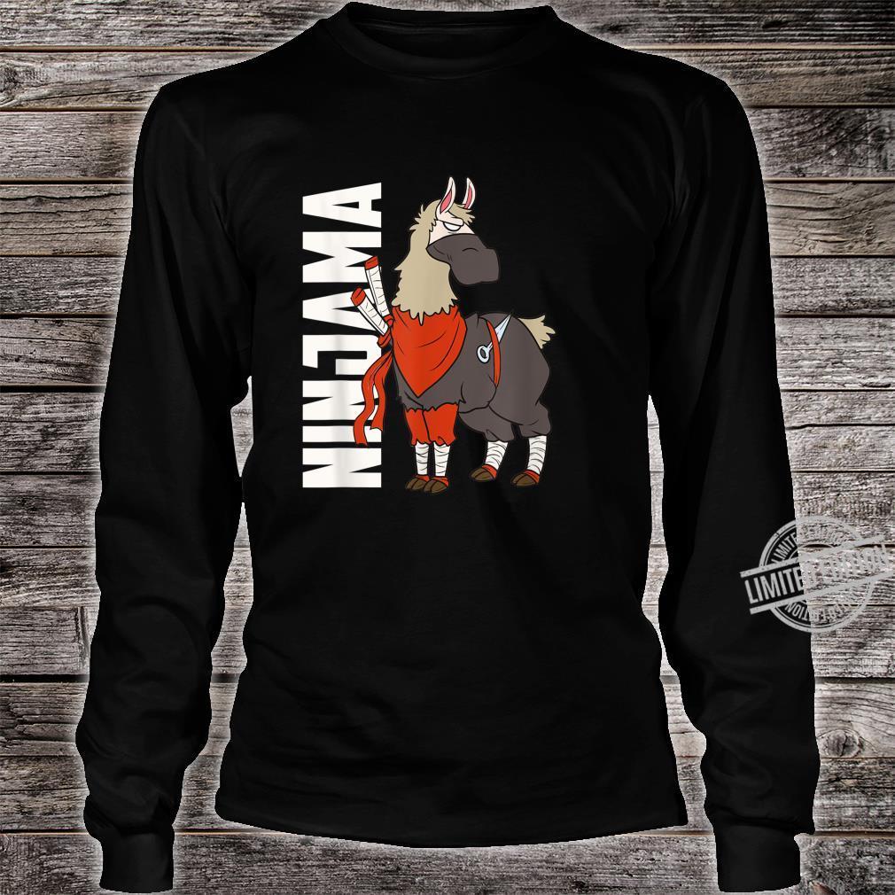 Ninjama Ninja Lama Shirt long sleeved