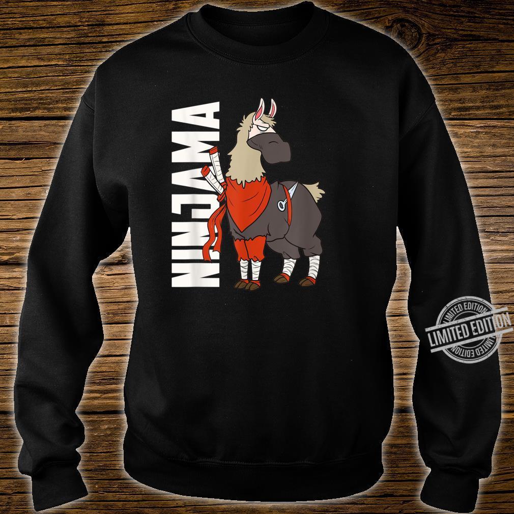 Ninjama Ninja Lama Shirt sweater