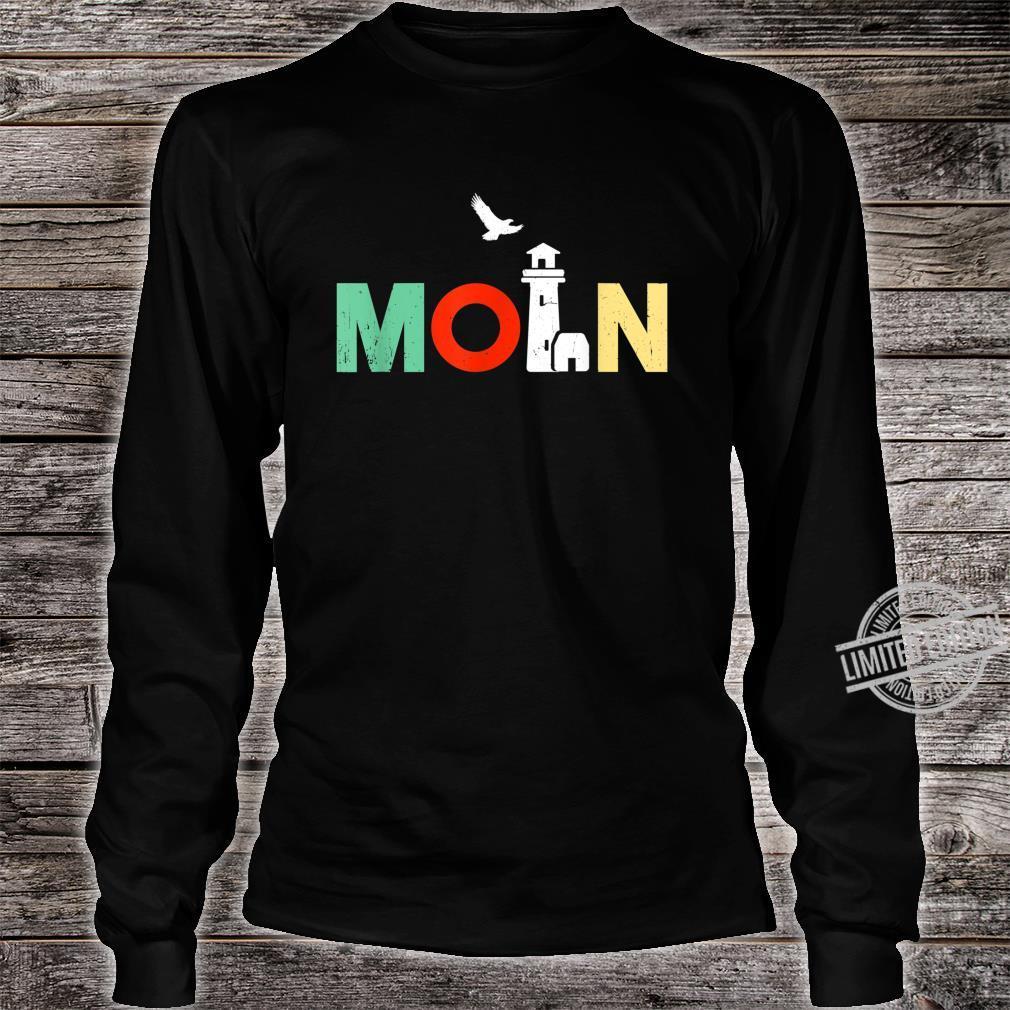 Norddeutsch Norddeutschland Norddeutscher Moin Geschenk Shirt long sleeved