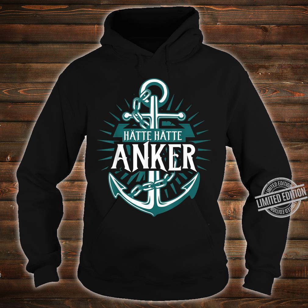 Norden Mooinzen Anker Plattdeutsch Spruch für Nordsee Fans Shirt hoodie