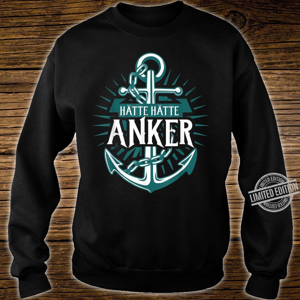 Norden Mooinzen Anker Plattdeutsch Spruch für Nordsee Fans Shirt sweater
