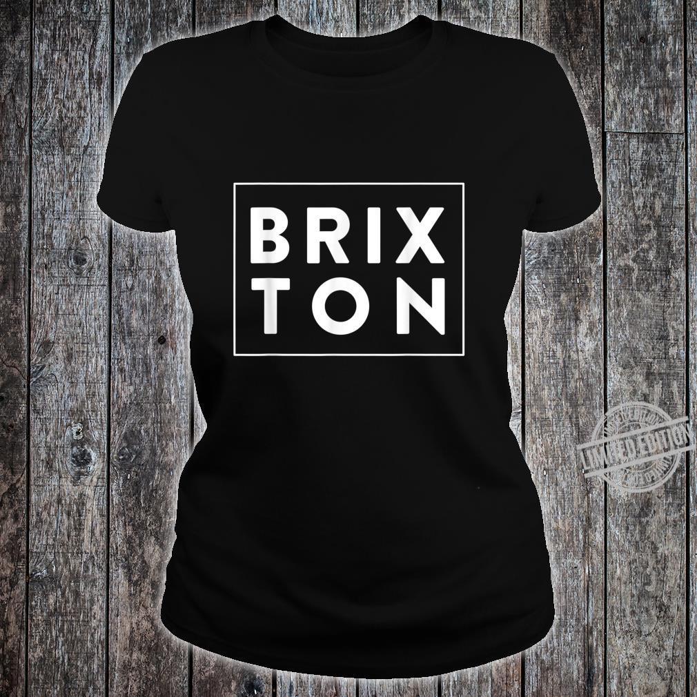 Nostalgic London Brixton Design Shirt ladies tee