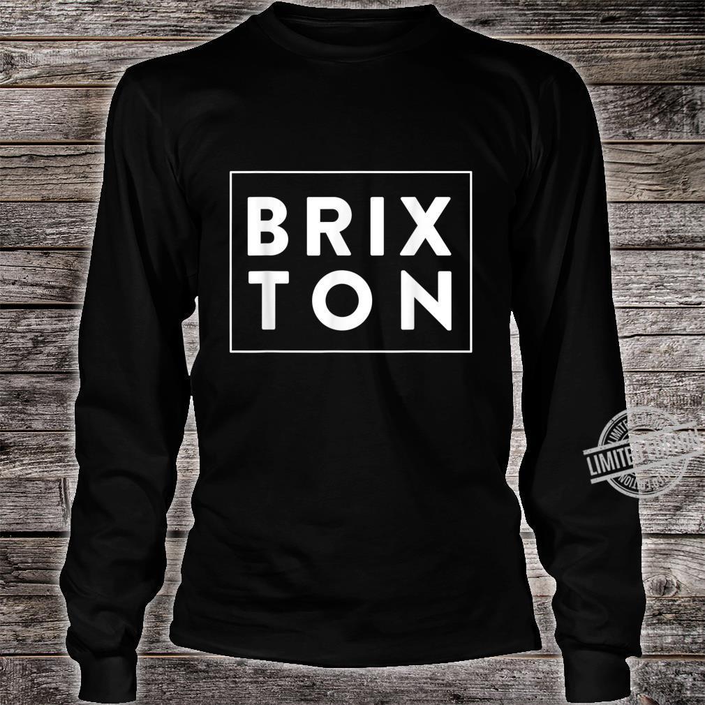 Nostalgic London Brixton Design Shirt long sleeved