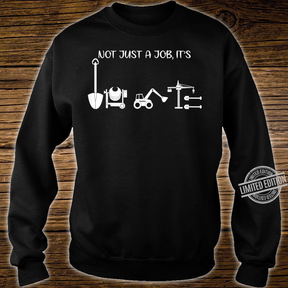 Not Just A Job It's Love Architect Shirt sweater