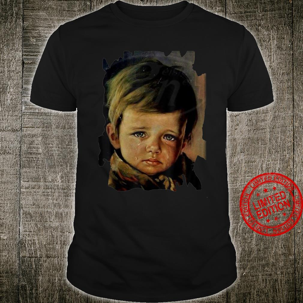 The Cursed Crying Boy Shirt